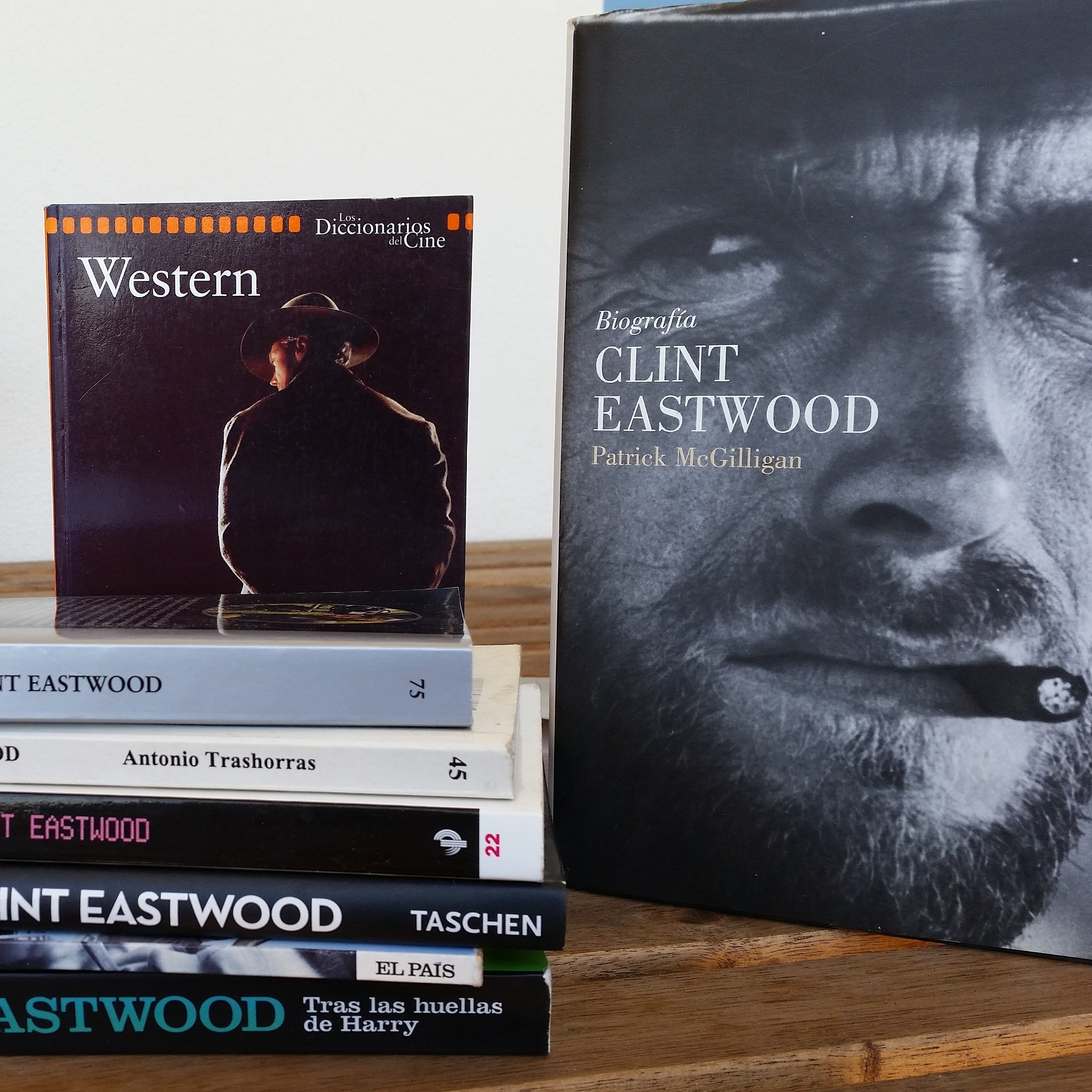 Clint Eastwood libros
