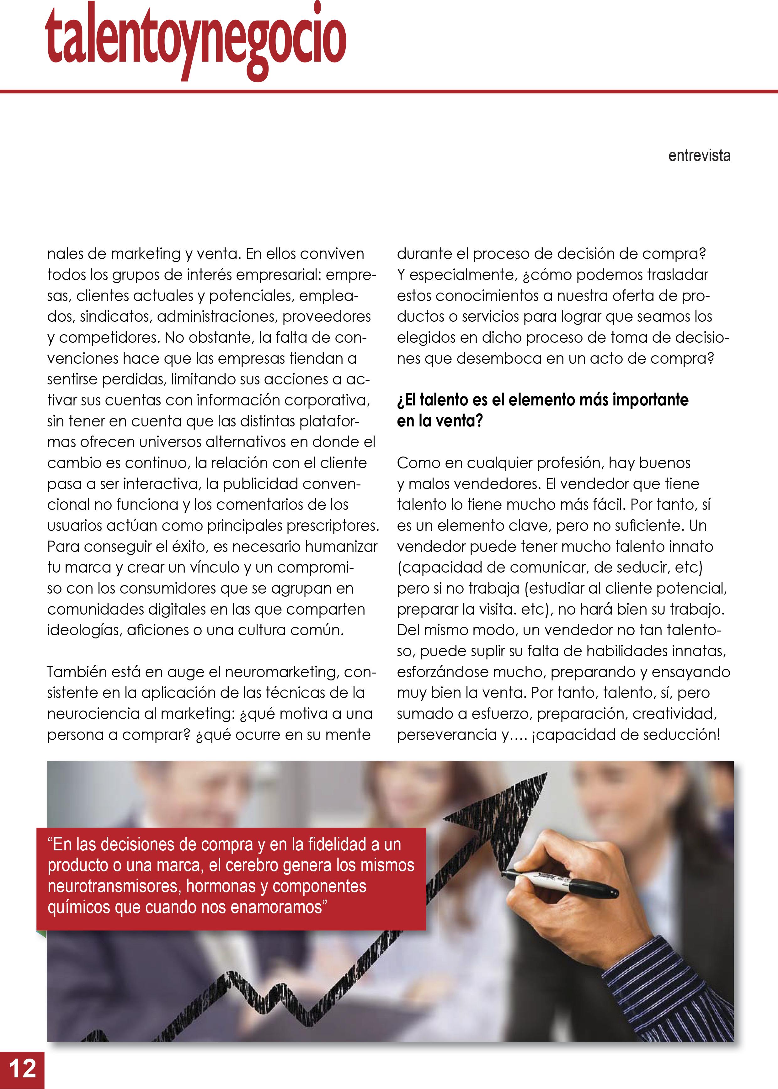 Revista online que habla de talento y éxito en los negocios