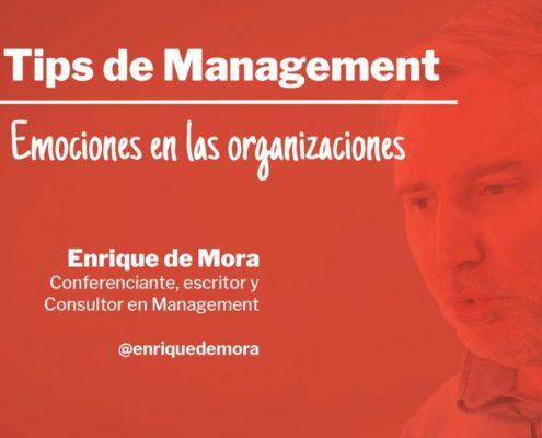 Tip de Management Carátula Emociones en las organizaciones