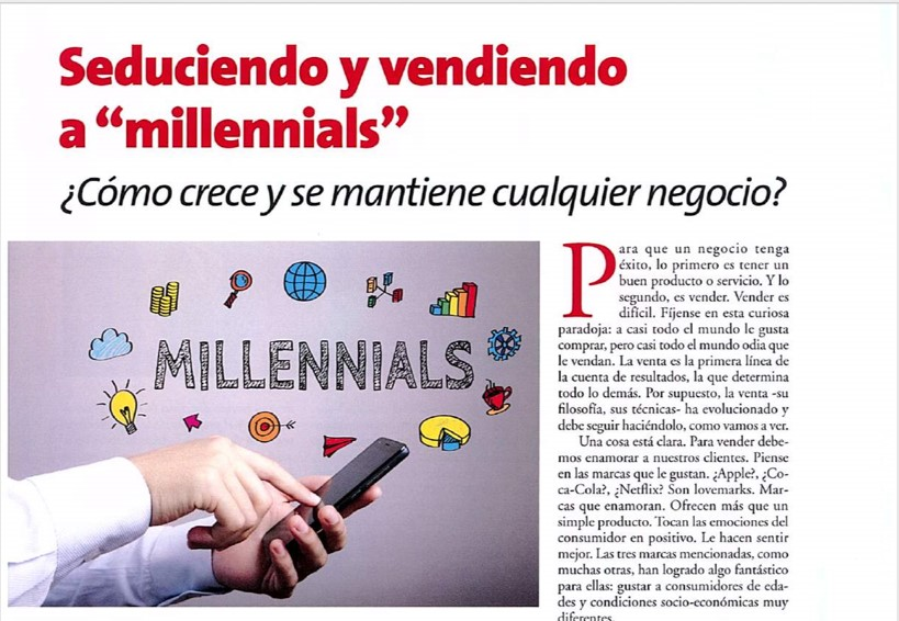 Seduciendo y vendiendo a millennials