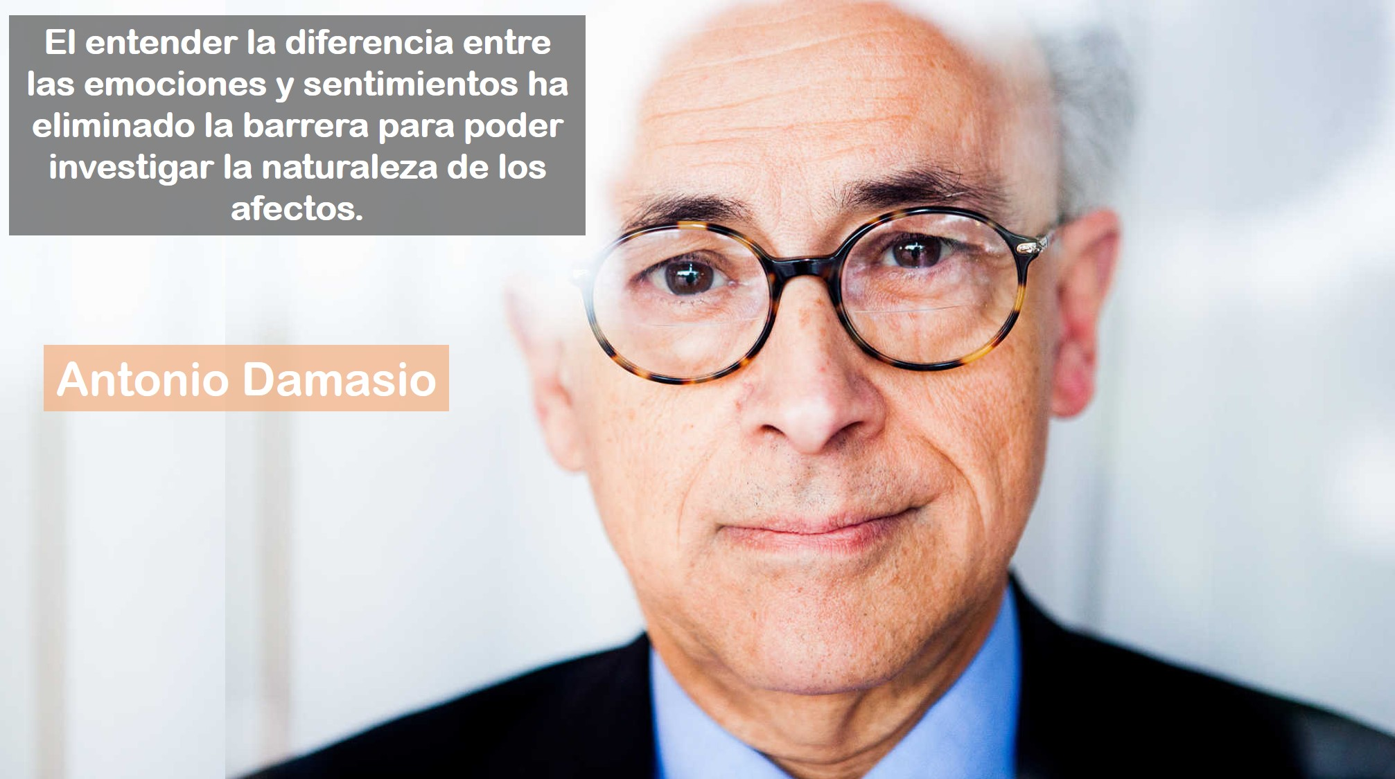 Antonio Damasio frase