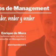 Tip de Management Carátula Vender, vender y vender